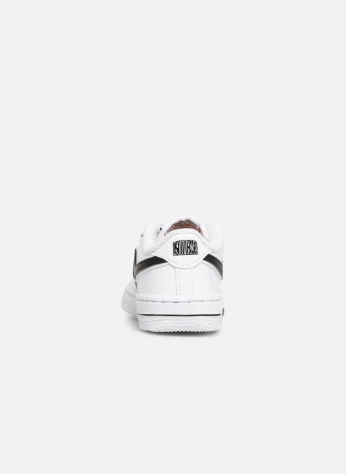 Baskets Nike Force 1-3 (Td) Blanc vue droite