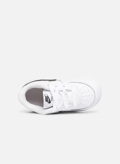 Sneaker Nike Force 1-3 (Td) weiß ansicht von links