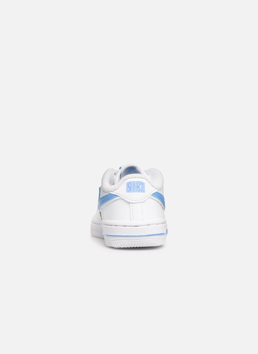 Baskets Nike Force 1-3 (Td) Blanc vue droite