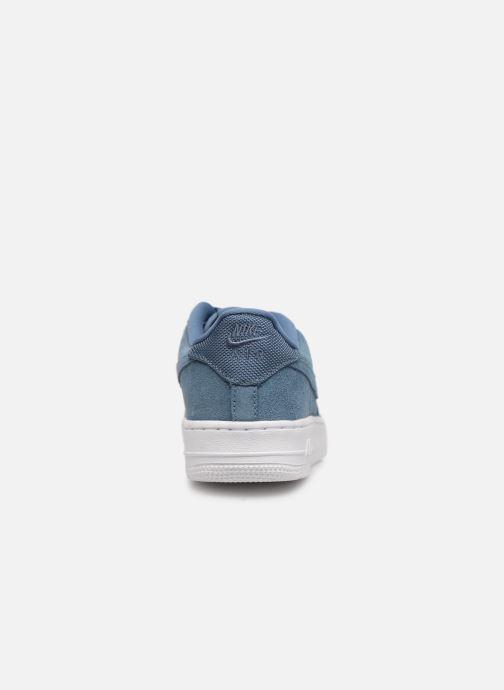 Baskets Nike Air Force 1-1 (Gs) Bleu vue droite