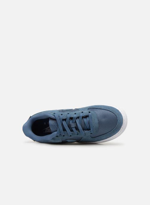 Baskets Nike Air Force 1-1 (Gs) Bleu vue gauche