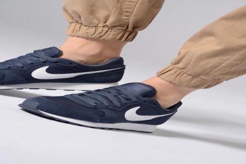 online store 6a812 4e550 Baskets Nike Nike Md Runner 2 Pe (Gs) Bleu vue bas   vue portée