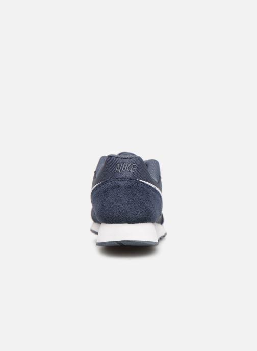 Deportivas Nike Nike Md Runner 2 Pe (Gs) Azul vista lateral derecha