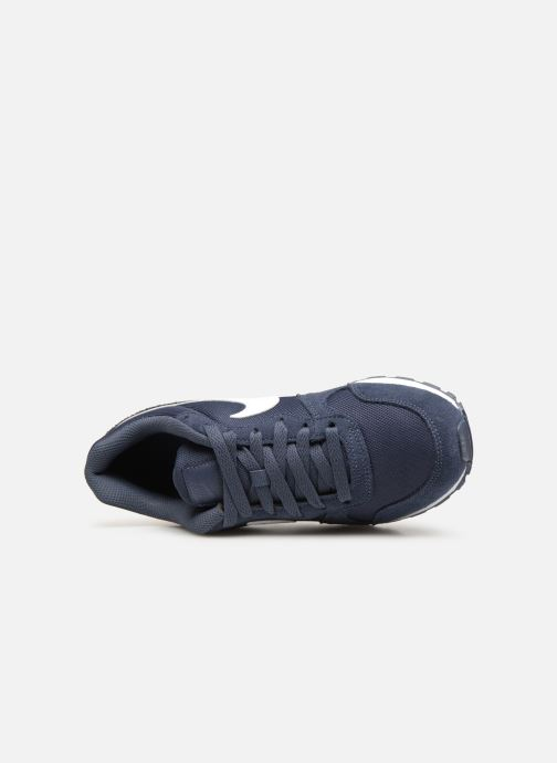 Trainers Nike Nike Md Runner 2 Pe (Gs) Blue view from the left