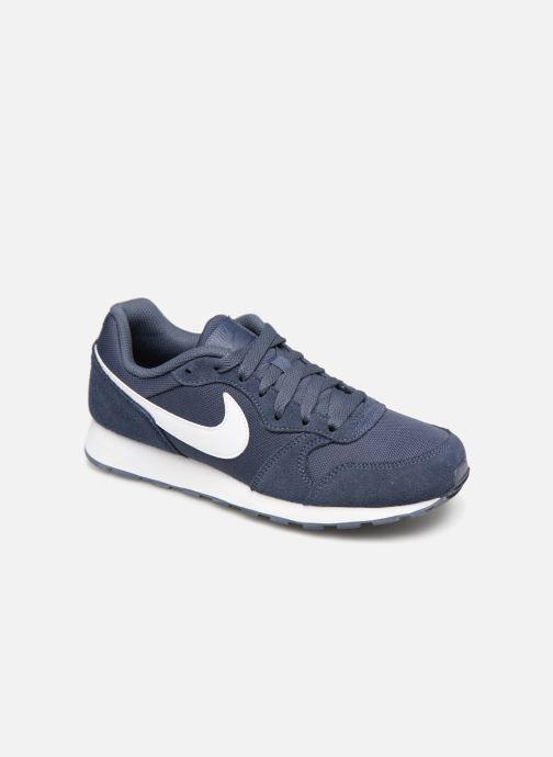 Sneakers Nike Nike Md Runner 2 Pe (Gs) Blå detaljerad bild på paret