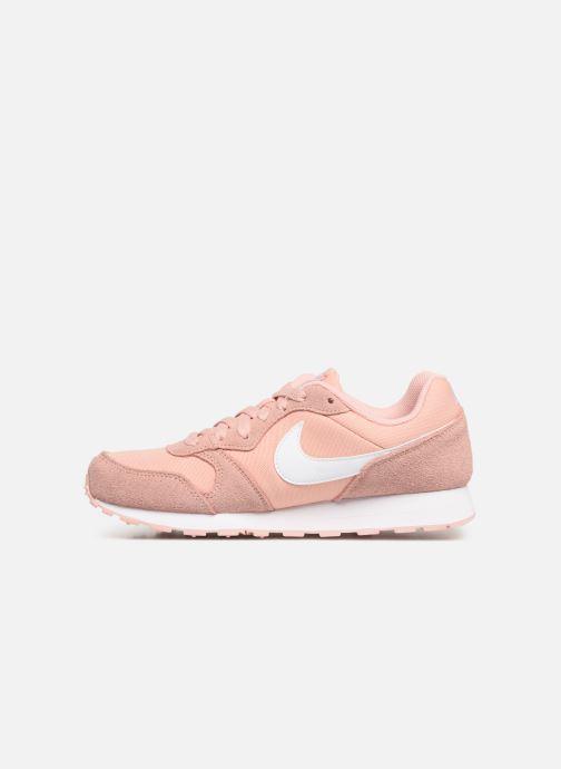 Deportivas Nike Nike Md Runner 2 Pe (Gs) Rosa vista de frente