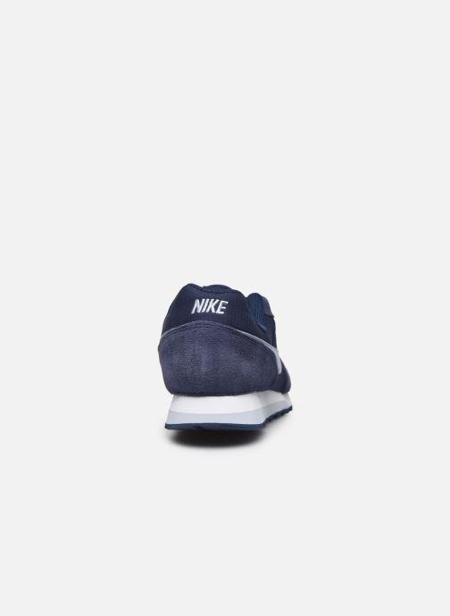 Baskets Nike Nike Md Runner 2 Pe (Gs) Bleu vue droite