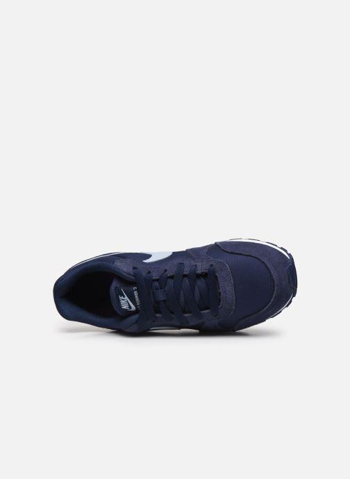 Baskets Nike Nike Md Runner 2 Pe (Gs) Bleu vue gauche