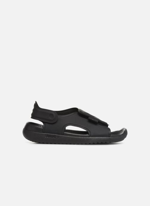 Sandales et nu-pieds Nike Nike Sunray Adjust 5 (Gs/Ps) Noir vue derrière