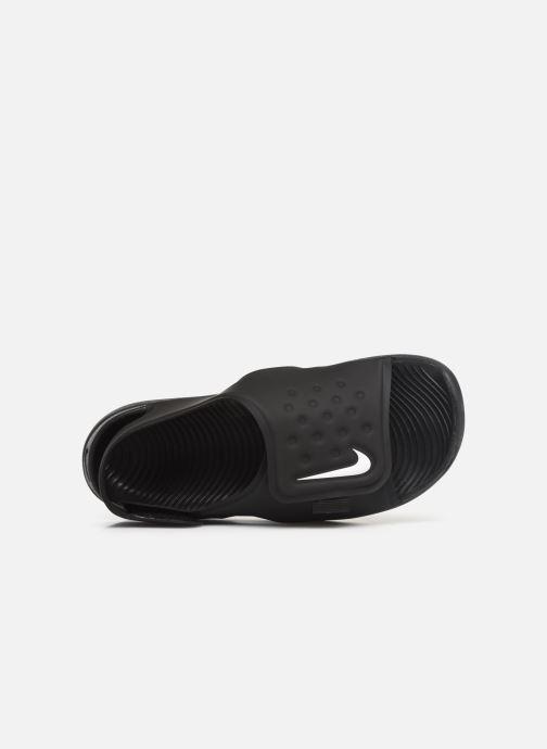 Sandales et nu-pieds Nike Nike Sunray Adjust 5 (Gs/Ps) Noir vue gauche