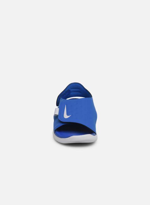 Sandalias Nike Nike Sunray Adjust 5 (Gs/Ps) Azul vista del modelo