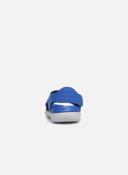 Sandalias Nike Nike Sunray Adjust 5 (Gs/Ps) Azul vista lateral derecha