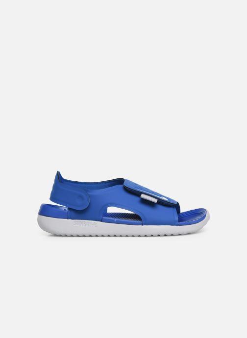 Sandalen Nike Nike Sunray Adjust 5 (Gs/Ps) blau ansicht von hinten