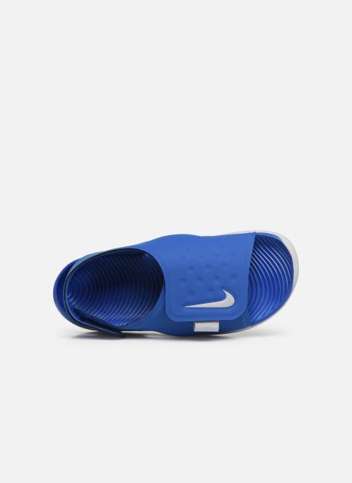 Sandaler Nike Nike Sunray Adjust 5 (Gs/Ps) Blå bild från vänster sidan