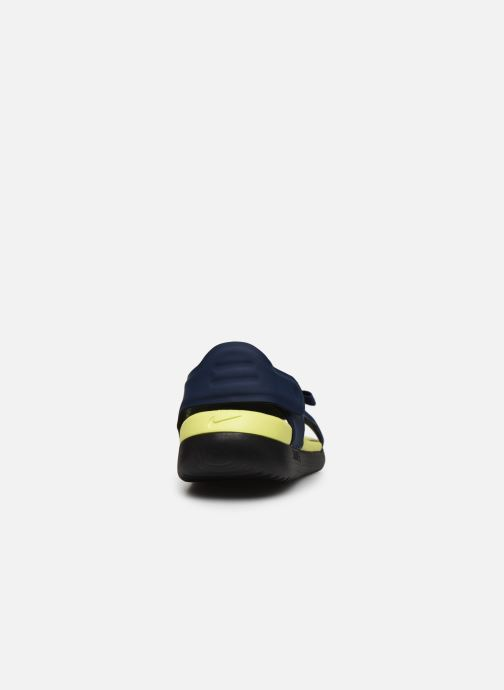 Sandales et nu-pieds Nike Nike Sunray Adjust 5 (Gs/Ps) Bleu vue droite