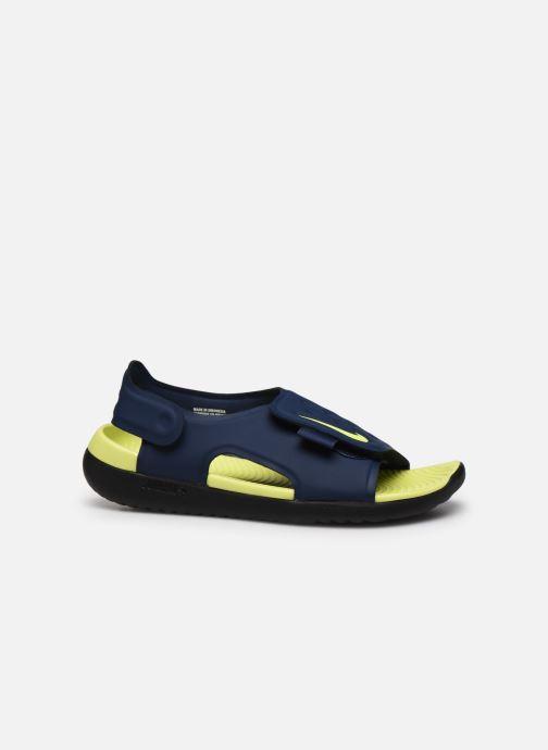 Sandales et nu-pieds Nike Nike Sunray Adjust 5 (Gs/Ps) Bleu vue derrière