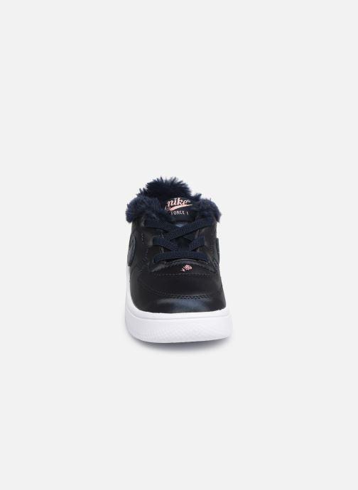 Sneakers Nike Nike Force 1 '18 Vday (Td) Blå bild av skorna på