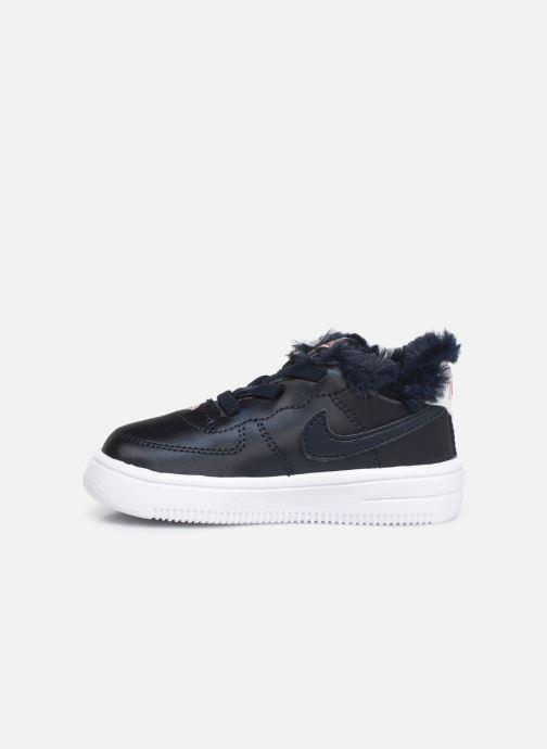 Sneakers Nike Nike Force 1 '18 Vday (Td) Blå bild från framsidan