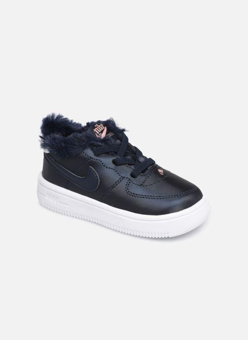 Sneakers Nike Nike Force 1 '18 Vday (Td) Blå detaljerad bild på paret