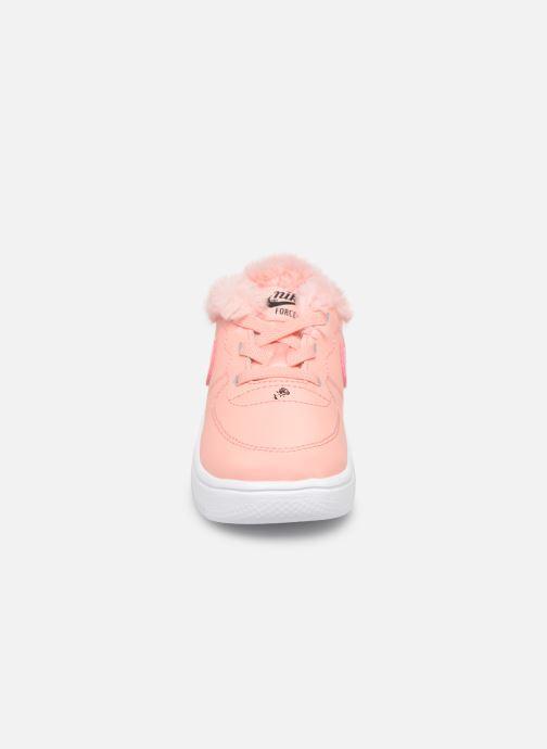 Sneaker Nike Nike Force 1 '18 Vday (Td) rosa schuhe getragen