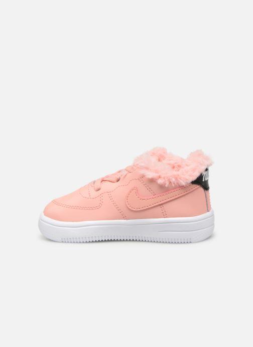 Sneaker Nike Nike Force 1 '18 Vday (Td) rosa ansicht von vorne
