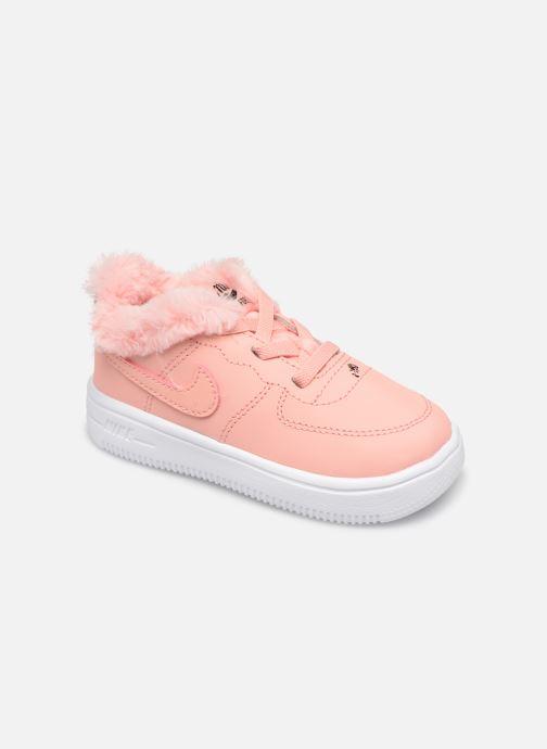 fa1d993feec52 Nike Nike Force 1  18 Vday (Td) (Rose) - Baskets chez Sarenza (352797)