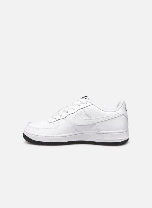 Sneaker Nike Air Force 1 Lv8 2 (Gs) weiß ansicht von vorne