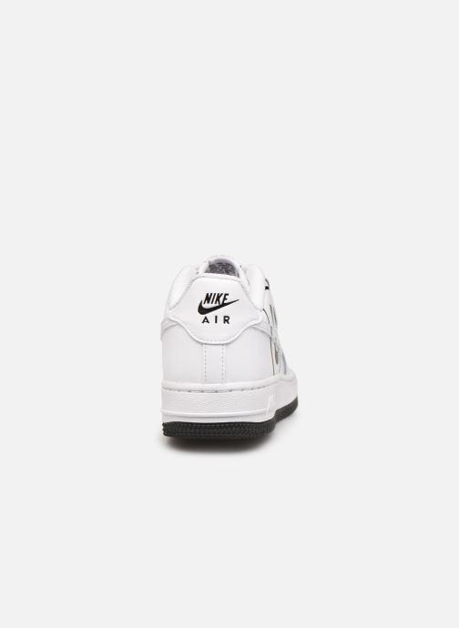 Sneaker Nike Air Force 1 Lv8 2 (Gs) weiß ansicht von rechts