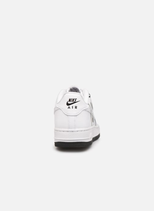 new styles 507bd 8657c Baskets Nike Air Force 1 Lv8 2 (Gs) Blanc vue droite