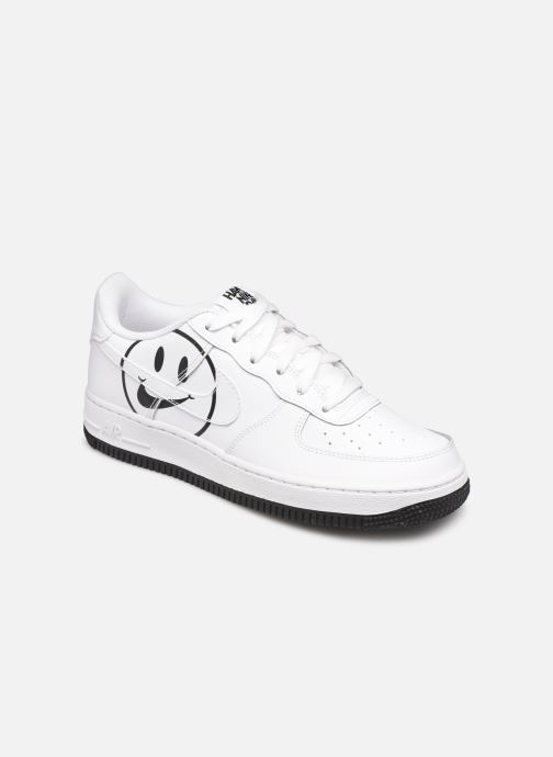 premium selection 3634c a1c77 Baskets Nike Air Force 1 Lv8 2 (Gs) Blanc vue détail paire