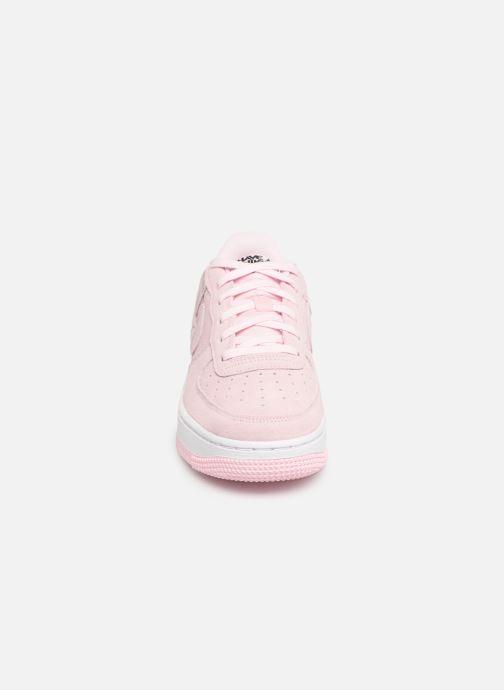 Sneaker Nike Air Force 1 Lv8 2 (Gs) rosa schuhe getragen