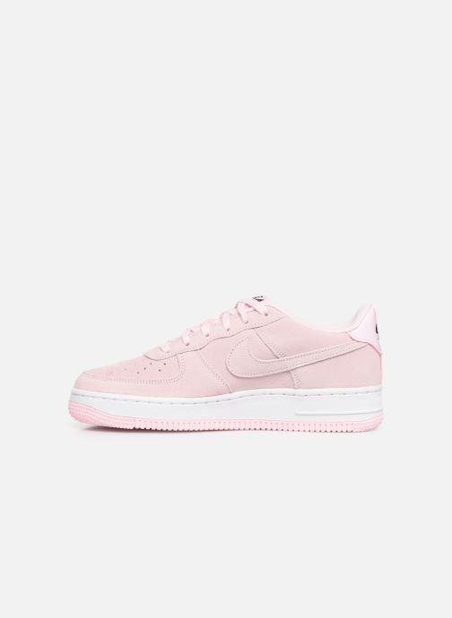 Sneaker Nike Air Force 1 Lv8 2 (Gs) rosa ansicht von vorne