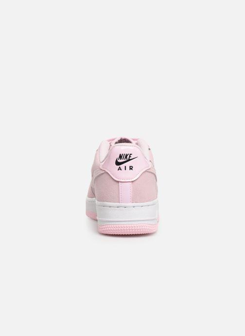 Sneaker Nike Air Force 1 Lv8 2 (Gs) rosa ansicht von rechts