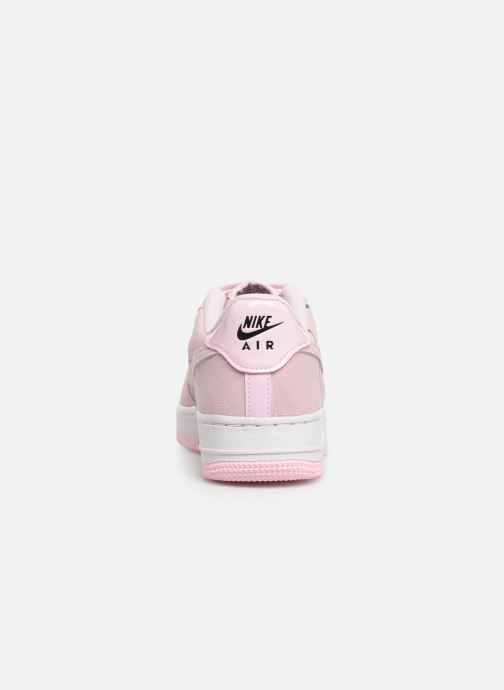 Sneakers Nike Air Force 1 Lv8 2 (Gs) Rosa Bild från höger sidan