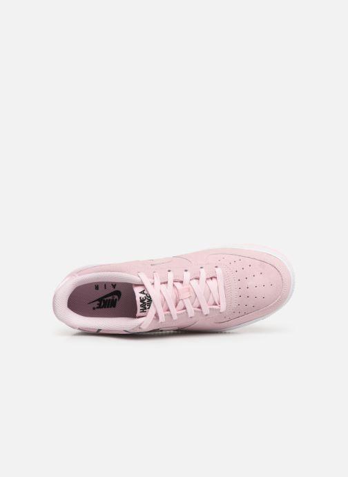 Sneaker Nike Air Force 1 Lv8 2 (Gs) rosa ansicht von links