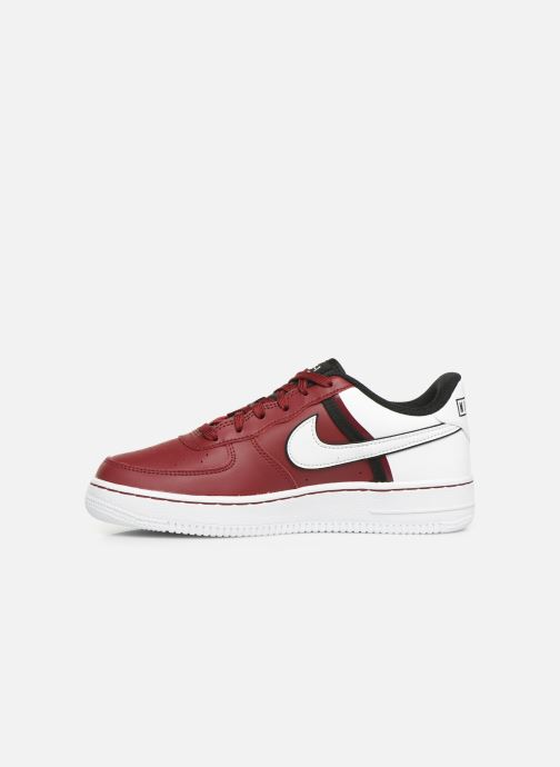 Baskets Nike Air Force 1 Lv8 2 (Gs) Bordeaux vue face