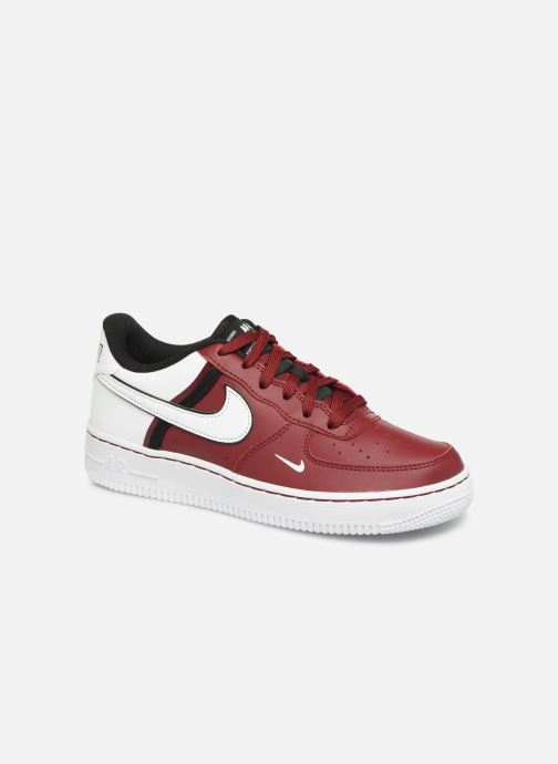 Baskets Nike Air Force 1 Lv8 2 (Gs) Bordeaux vue détail/paire