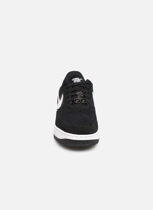 Baskets Nike Air Force 1 Lv8 Nk Day (Gs) Noir vue portées chaussures