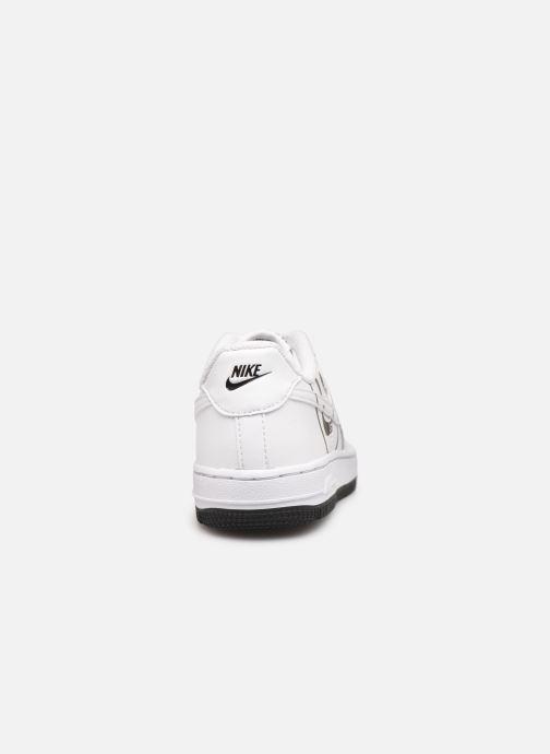 Baskets Nike Force 1 Lv8 2 (Ps) Blanc vue droite