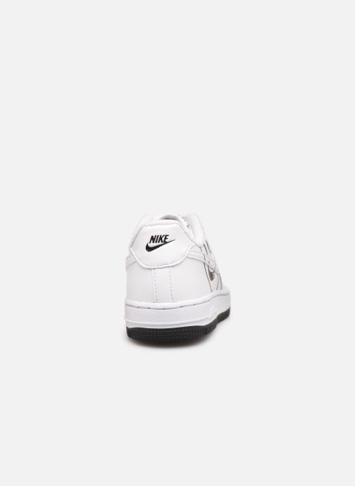Baskets Nike Force 1 Lv8 2 (Ps) Blanc vue droite