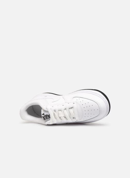 Baskets Nike Force 1 Lv8 2 (Ps) Blanc vue gauche