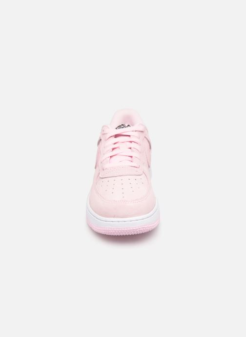 Baskets Nike Force 1 Lv8 2 (Ps) Rose vue portées chaussures