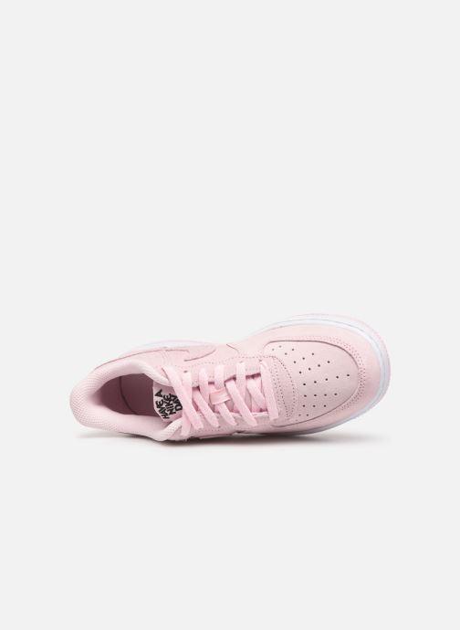 Deportivas Nike Force 1 Lv8 2 (Ps) Rosa vista lateral izquierda