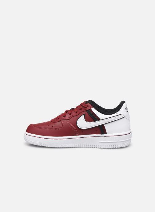 Sneaker Nike Force 1 Lv8 2 (Ps) weinrot ansicht von vorne