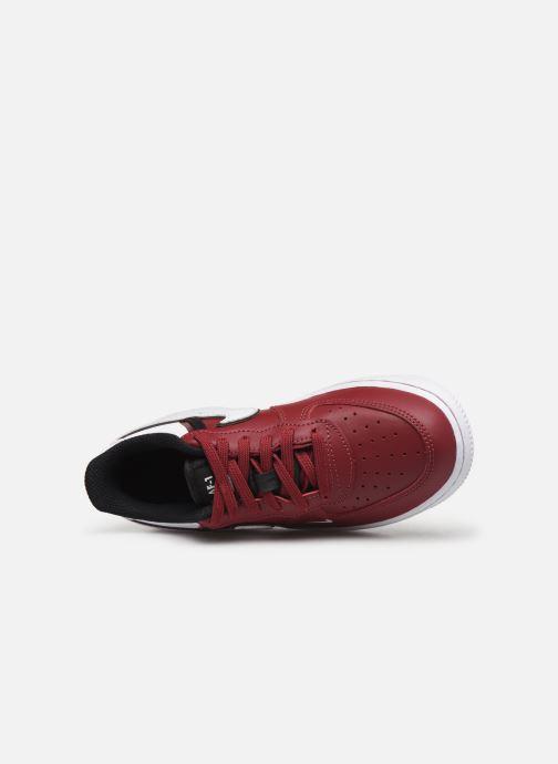Sneaker Nike Force 1 Lv8 2 (Ps) weinrot ansicht von links