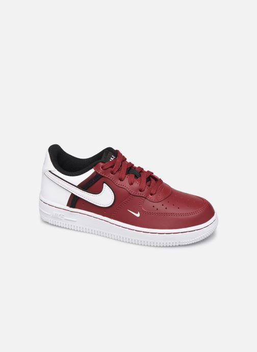 Deportivas Nike Force 1 Lv8 2 (Ps) Vino vista de detalle / par