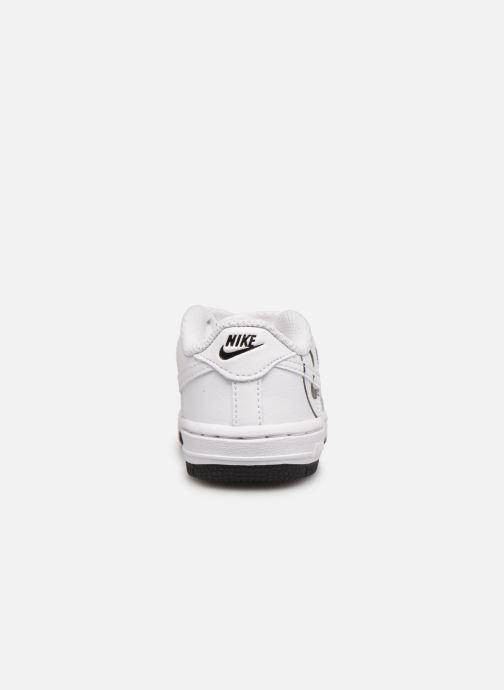 Deportivas Nike Force 1 Lv8 2 (Td) Blanco vista lateral derecha