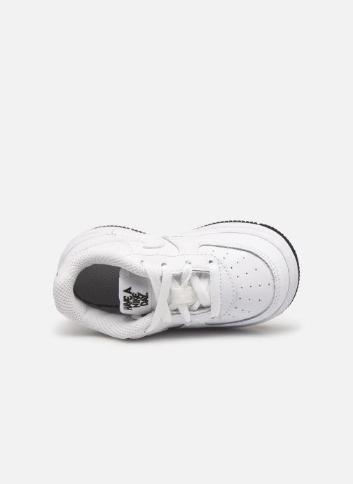 Deportivas Nike Force 1 Lv8 2 (Td) Blanco vista lateral izquierda