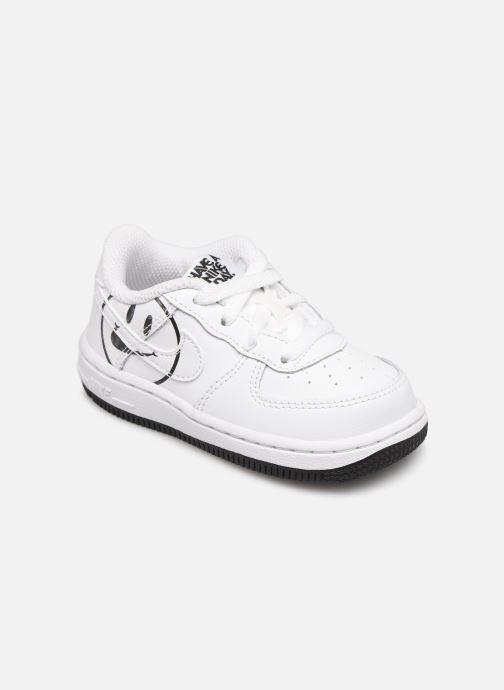 Deportivas Nike Force 1 Lv8 2 (Td) Blanco vista de detalle / par