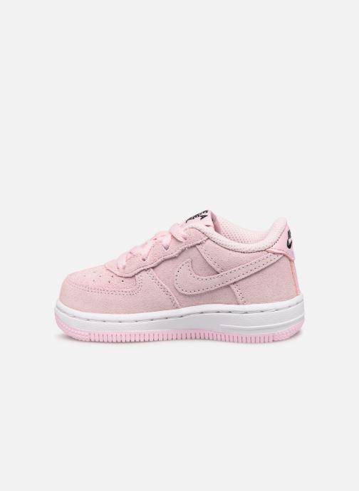 Sneaker Nike Force 1 Lv8 2 (Td) rosa ansicht von vorne